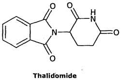 thalidomide molecule