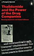 book cover: thalidomide and the power of drug companies