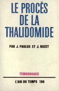 Couverture de livre: Le procès de la thalidomide